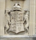 Image for Royal Coat of Arms of King Henry VII of England -- Bath Abbey, Bath, Somerset, UK