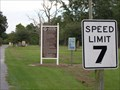 Image for 7 MPH Sign - Contentnea Creekside RV and Trail Park