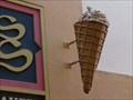 Image for Sultan Sweets - 3D Ice Cream Cone - Busch Gardens, Orlando, Florida. USA.[