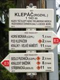 Image for Elevation Sign - Klepy, Poland.1143m