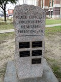 Image for Peace Officers and Firefighters Memorial - Fairfield, TX