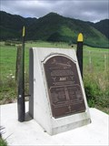 Image for ZK-AYZ Air Disaster Memorial. Kaimai Ranges. New Zealand.