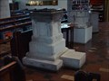 Image for Font in St Nicolas Church, Great Bookham, Surrey UK