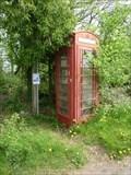 Image for Roadside phone box, Hanley Broadheath, Worcestershire, England
