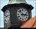 Image for Clocks on Town Hall / Hodiny na radnici - Dobríš (Central Bohemia)