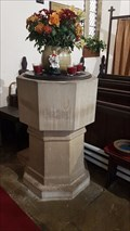 Image for Baptism Font - St Anne - Ellerker, East Riding of Yorkshire