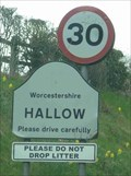 Image for Hallow, Worcestershire, England