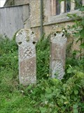 Image for Saxon Wheel Crosses - All Saints Churchyard, Elton, Cambridgeshire, UK