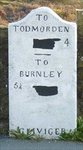 Image for Milestone - Burnley Road, Cornholme, Lancashire, UK.
