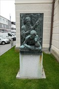 Image for Mohr-Gruber-Denkmal - Oberndorf bei Salzburg, Austria