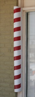Image for City Barber Shop Pole -- Big Spring TX
