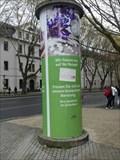 Image for Advertising Column 'Eulenapotheke' - Jena/Thuringia/Germany