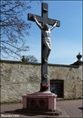 Image for Cross at the Church of All Saints / Kríž u kostela Všech svatých / (Prague - Uhríneves)