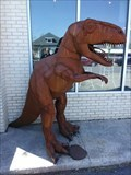 Image for T-Rex at Guyutes restaurant - Oklahoma City, Oklahoma USA