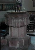 Image for Stone Font, St Peter's Church, Astley, Worcestershire, England
