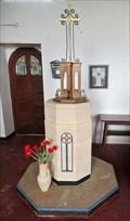 Image for Baptismal Font - St. Patrick's - Jurby, Isle of Man
