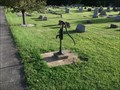 Image for Water Pump - Rockfield Cemetery - rural Fountain County, IN