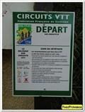 Image for Point de départ circuit de VTT - Mézel, France