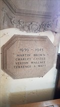 Image for Memorial Tablet - St Peter & St Paul - Exton, Rutland
