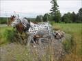 Image for Les chevaux de Coburn - Melbourne, Qc