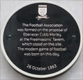 Image for FIRST - Meeting of the Football Association - Great Queen Street, London, UK