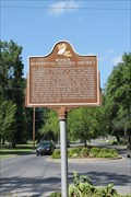 Image for Monroe Residential Historic District - Garden District Marker