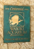 Image for Waikiki Aquarium - 100 years - Honolulu, Oahu, HI