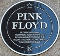 Image for Pink Floyd Plaque - Regent Street, London, UK