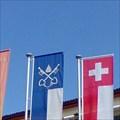 Image for Municipal Flag - Ascona, TI, Switzerland