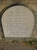 Image for Oundle Arches Plaque - Station Road, Oundle, Northamptonshire, UK