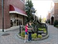 Image for Haddonfield's Dinosaur Statue Recognized By USA Today - Haddonfield, NJ