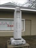 Image for Walton County VFW War Memorial - Monroe, GA