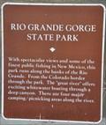 Image for Rio Grande Gorge State Park