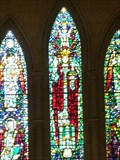 Image for Christ with the Four Evangelists - St Mary's Church - Swansea - Wales.