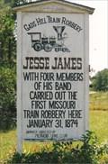 Image for Jesse James Marker - Gads Hill, MO