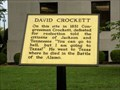 Image for David Crockett - Madison Co. Courthouse - Jackson, TN