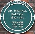 Image for Sir Michael Balcon - Tufton Street, London, UK