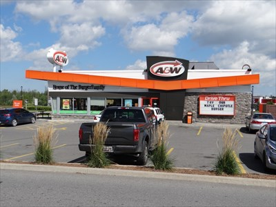 distinctive A&W look