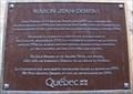 Image for Plaque de la maison Jean-Demers - Québec, Québec