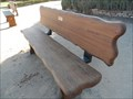 Image for Rotary Bench at the Mission  -  San Juan Bautista, CA
