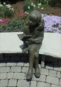 Image for Girl with book - First Presbyterian Church, Corning, NY