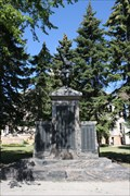 "Image for ""Over the Top"" WWI Memorial -- Wahpeton ND"
