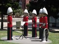 Image for Volunteer Rifle Band Bollards - Geelong Waterfront, Victoria, AU
