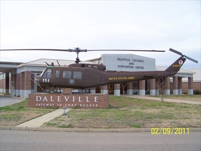 UH-1H Huey - Daleville, AL - Static Aircraft Displays on Waymarking ...
