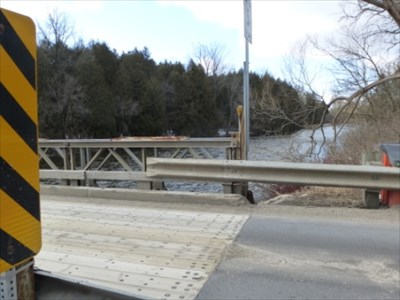 Bon Echo visited Niska Road Bailey Bridge