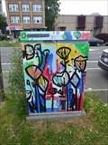 Image for Scratch Art Flowers - Hartford, CT