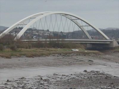 City Bridge - SDR, A48, Newport, Wales.