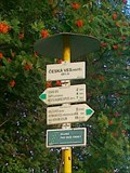 Image for Ceska Ves - Hute/Tourist Arrows, Ceska ves,CZ,EU