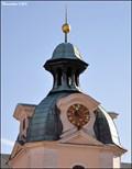 Image for Clock at Cistercian Abbey of Sedlec / Hodiny na Cisterciáckém opatství v Sedlci - Kutná Hora (Central Bohemia)[