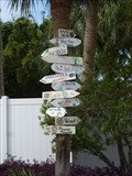 Image for 2nd Street Direction & Distance Arrows - Jacksonville Beach, FL